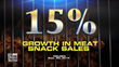 Meat snack sales grew by 15 percent last year