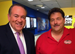 Gov. Mike Huckabee and Paul Lyons