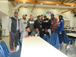 Giants Rookies Participate in the Fund-A-Meal Program at Eva's Village...