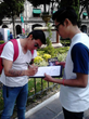 "Mexican Scientologists carried out a human rights petition ""sign-a-thon,"" calling for the government to enforce human rights standards laid out in the UN Universal Declaration of Human Rights."