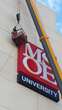 Sign Effectz, Inc. installs new custom built sign at MSOE in Milwaukee, WI