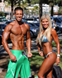 Team Elite competing at an NPC show in Culver City, CA
