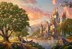 """Beauty and the Beast II"" - from the Thomas Kinkade Vault"