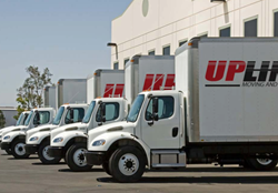 Upline Moving Trucks Ready For The Holiday Season