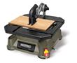 BladeRunner X2 cuts wood, PVC, plastic, aluminum and ceramic tile using standard T-shank jigsaw blades.