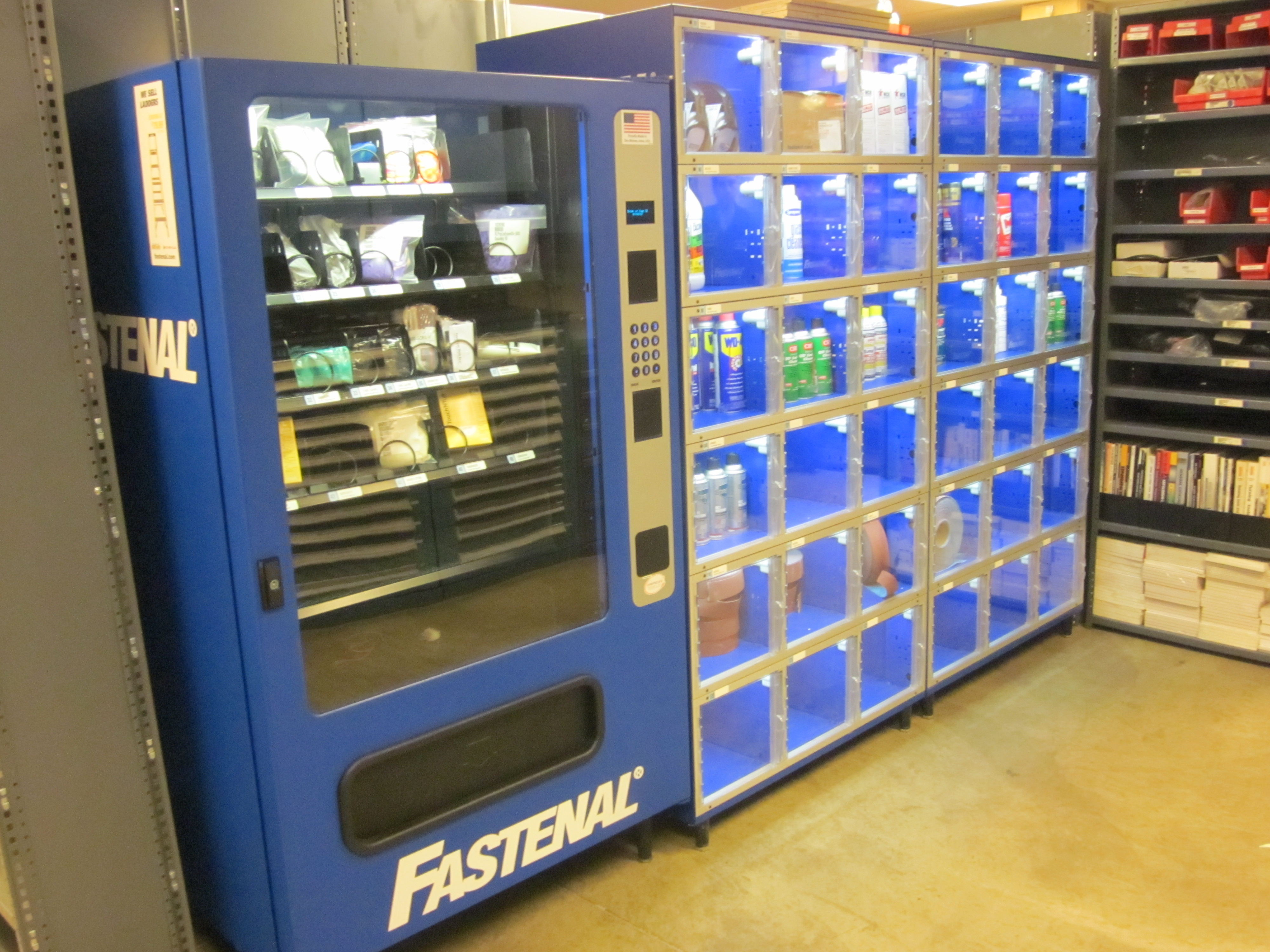 Roll Kraft Adds Fastenal Vending Machines To Reduce Waste
