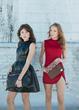 shop LaQuan Smith dresses, Kyu Melange Handbags, Lorraine West Jewelry, and Rachel Pfeffer Earrings at shopDOKU.com