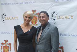 Lady Pamela Anderson with Dr.Khanna