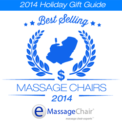 Holiday Gift Guide Best Selling Massage Chairs for 2014