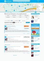 New Interface on Parkbench.com