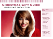 2014 Christmas Gift Guide from Sublime Beauty® Now Available