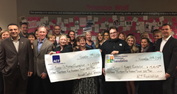 Account Control Technology, Inc. presents donation to Susan G. Komen.