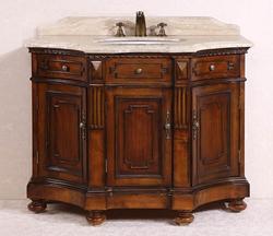 "Legion Furniture 48"" Solid Wood Bathroom Vanity WH2048"