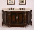 "Legion Furniture 67"" Solid Wood Bathroom Vanity WH3567"