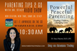 Parenting Tips 2 Go Radio Hos,t Dr. Stacy Haynes, Announces Powerful...