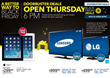 Consumers Anticipate the Top 10 Best Special Friday Deals for 2014