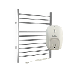 Infinity plug-in towel warmer with WeMo Switch