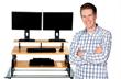 Active Photographer turns Sedentary Cube Potato, turns Standing Desk...