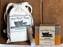 Handmade all Natural Goat Milk Soaps make fabulous stocking stuffers!