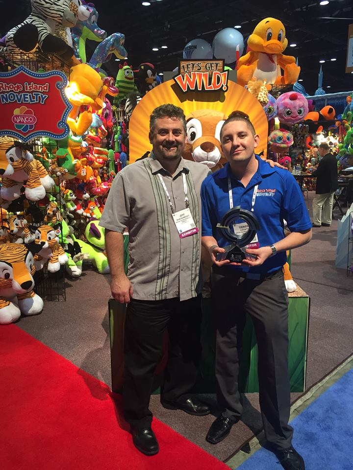 Rhode Island Novelty 174 Honored With 2014 Iaapa Brass Ring Award