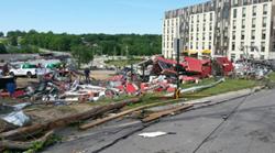 Platteville Spring-Green Lawn Care after the June 16 Tornado