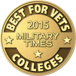 NAU is featured on Military Times' Best for Vets: College 2015 rankings for a second year.