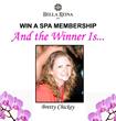 Brett Chickey Announced Winner of the Bella Reina Spa Membership at...