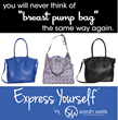 Introducing Three New Breast Pump Bags from Sarah Wells