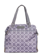 "Sarah Wells ""Lizzy"" Breast Pump Bags in Gray Nylon"