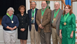 Wilmington University's first Professor Emeritus Award recipients (from left) Dr. Tish Gallagher, Dr. LaVerne Harmon, Dr. Ronald Watts, Mr. Mickey Turnbo, Dr. John Szczechowski and Dr. Barbara Raestsc
