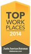 Alchemy selected as a 'Top Workplace' by the Austin American-Statesman