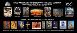 The participating artists in these two exhibitions (Paris and Los Angeles), integrate the project International Surrealism Now.