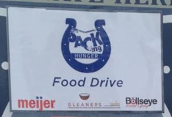 Sacking Hunger Food Drive