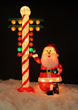 North Pole Staging Light Holiday Yard Decoration