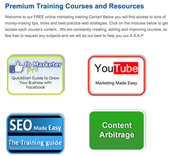 Free Online Marketing Training