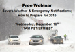 Regroup to Host Webinar on Severe Weather Preparation and Emergency...
