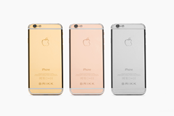 Lux iPhone 6 Secure by Brikk in Yellow Gold, Pink Gold and Platinum