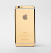 Lux iPhone 6 Secure by Brikk in Yellow Gold