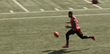 The AFS Class of 2014 Torrey Harkness - Running Bounce.  Harkness is a versatile quarterback turned wide receiver in college