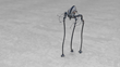 Tripod walk cycle using Genoma 2 character rigging system in LightWave 2015.