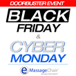 Emassagechair.com is Excited to Announce Their Biggest Discount Event of the Year, Starting the Day After Thanksgiving and Lasting Through The Holiday Weekend.