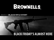 Brownells Offers Hot Deals Throughout Black Rifle Friday Weekend