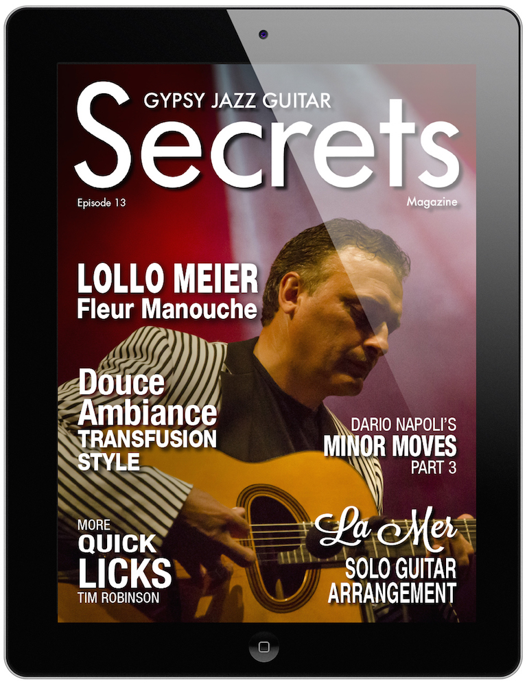 Lollo Meier is Featured in Episode 13 of Gypsy Jazz Guitar Secrets ...