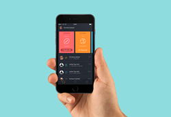 PlayWith for iPhone. Simplest way to find fitness and sports activity partners nearby.