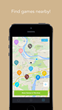 PlayWith - Find sports, fitness and game activities nearby.