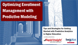 eBook Optimizing Enrollment Management with Predictive Modeling