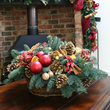 Seasonal flowers delivery London UK. Christmas flowers delivery London, Christmas flower arrangements and decorated Christmas trees delivery in London by top London florist.