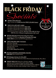 Wellness Spa Holiday Specials In The Woodlands Tx
