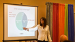 Barbara Khozam delivers customer service training including the art of communicating with and without words.
