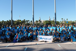 More than 160 WellCare employees, family and friends participated in the American Diabetes Association's Step Out walk in Tampa, Fla.
